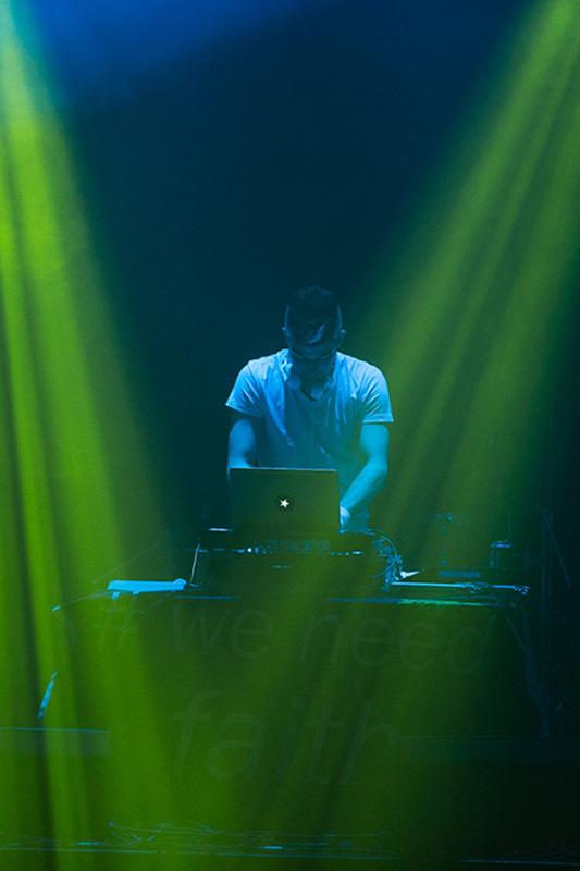 DJ Faith am Kirchentag